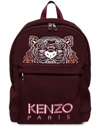 KENZO - Tiger Embroidered Neoprene Backpack - Lyst