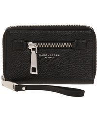 Marc Jacobs - Gotham Zip Around Wallet W/ Wristlet - Lyst
