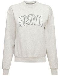 Sporty & Rich Princeton スウェットシャツ - グレー