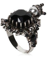 Alexander McQueen - House Of Skull Brass Ring - Lyst
