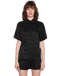Kirin ジャカードシャツ - ブラック