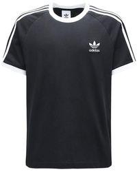 adidas Originals - T-shirt Aus Baumwolle Mit Druck - Lyst