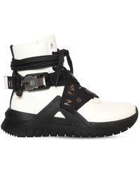 """Balmain Sneakers En Cuir """"B Troop"""" 20 Mm - Blanc"""