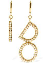 Bijoux De Famille I Do Faux Pearls Earrings - Mettallic