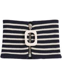 J.W.Anderson - Zip Extra Fine Merino Wool Neckband - Lyst