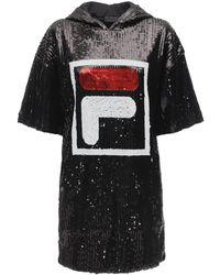 Fila Mari Sequined Dress - Black