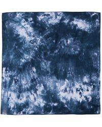 Paco Rabanne Bedruckter Schal - Blau