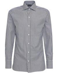 Tom Ford Рубашка Из Хлопка - Многоцветный