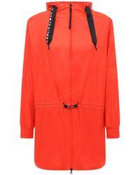 adidas Originals Karlie Kloss ウィンドブレーカー - オレンジ