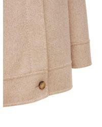 Max Mara Matteo Double Cashmere Coat - Natural