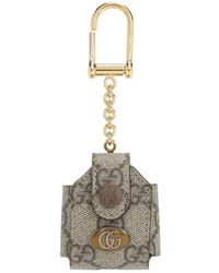 Gucci オフィディア GG Airpods ケース - メタリック