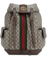 Gucci Ophidia GG medium backpack - Natur