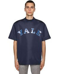 CALVIN KLEIN 205W39NYC College Printed Light T-shirt - Blue