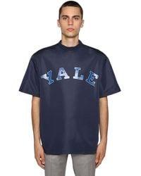 CALVIN KLEIN 205W39NYC - T-shirt Mit Yale-druck - Lyst