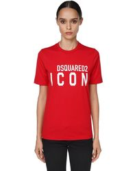 DSquared² - Icon & Logo ジャージーtシャツ - Lyst