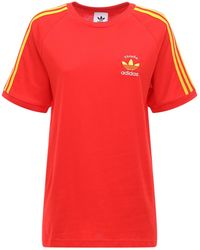 adidas Originals - 3-stripes Spain Tシャツ - Lyst