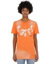 DOMREBEL Amigos Cotton Jersey T-shirt - Orange