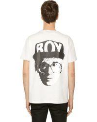 BOY London - Boy Visual Printed Jersey T-shirt - Lyst 9b36b9569805