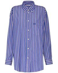 Balenciaga - オーバーサイズポプリンシャツ - Lyst