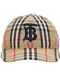Burberry Бейсбольная Кепка Из Канваса - Естественный