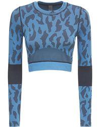 "adidas By Stella McCartney Brassière Sans Coutures ""asmc Truepurpose"" - Bleu"