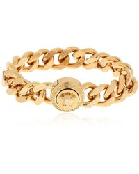Versace - Medusa Flat Chain Bracelet - Lyst