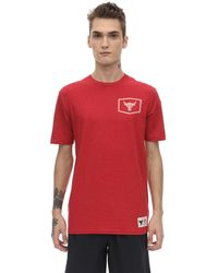 Under Armour Project Rock Iron Cotton Blend T-shirt - Red