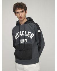 Moncler コットンスウェットシャツ - ブラック