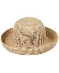 Lack of Color Woven Straw Boat Hat - Mehrfarbig