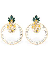 Anton Heunis - Pineapple Paradise Earrings - Lyst