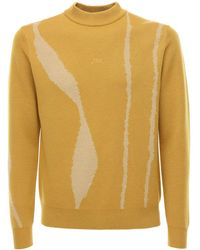 A_COLD_WALL* Logo Jacquard Wool Knit Sweater - Multicolor