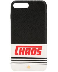 Chaos リフレクティブレザー Iphone 7/8 Plus ケース - ブラック