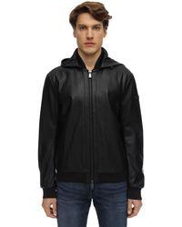 Armani Exchange Куртка Из Искусственной Кожи - Черный