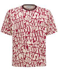 Lanvin コットンtシャツ - レッド