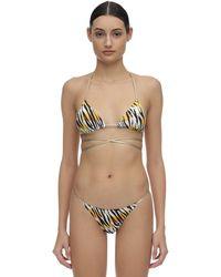 Reina Olga Hawn Wrap Around Bikini Set - Mehrfarbig