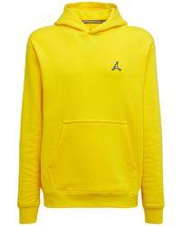 """Nike Fleece-hoodie """"jordan Lightning"""" - Gelb"""