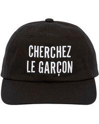 Etudes Studio - Garcon Embroidered Cotton Baseball Hat - Lyst