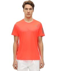 """adidas Originals Lvr Sustainable - T-shirt """"climacool"""" - Rot"""
