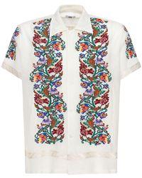 Bode Lvr Sustainable ジャカードシャツ - マルチカラー
