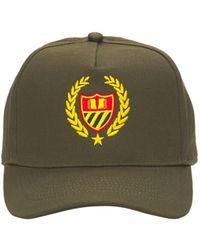BEL-AIR ATHLETICS Cotton Academy Crest Dad Baseball Hat - Green