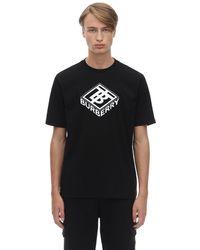 Burberry T-Shirt Uomo In Saldo - Nero