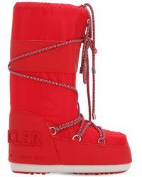 """Moncler Botas """"saturne Moon Boots"""" - Rojo"""