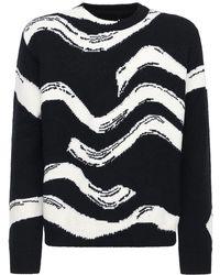 Stella McCartney Sweater Aus Wollstrick Mit Intarsien - Mehrfarbig