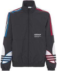 adidas Originals Primegreen Tricolor リサイクルトラックトップ - ブラック