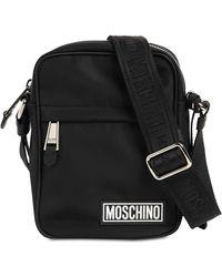 Moschino Сумка Из Нейлона С Логотипом - Черный
