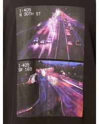 Unravel Project Oversize Highway Skate Jersey T-shirt - Black