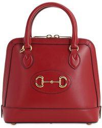 Gucci Кожаная Сумка Sm 1955 Horsebit - Красный