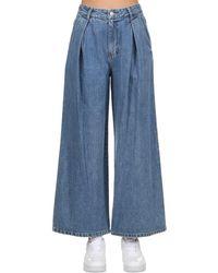 SJYP Jeans De Denim De Algodón - Azul