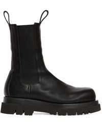 Bottega Veneta THE LUG BOOTS - Schwarz