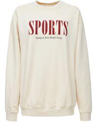 Sporty & Rich Sports スウェットシャツ - ナチュラル